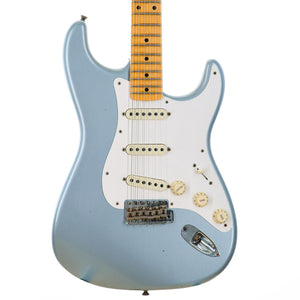 Fender Custom Shop Limited '50s Dual Mag II Stratocaster Journeyman Relic, Faded Aged Ice Blue Metallic