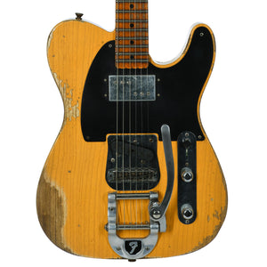 Fender Custom Shop Limited CuNiFe Blackguard Telecaster Heavy Relic Aged Butterscotch Blonde