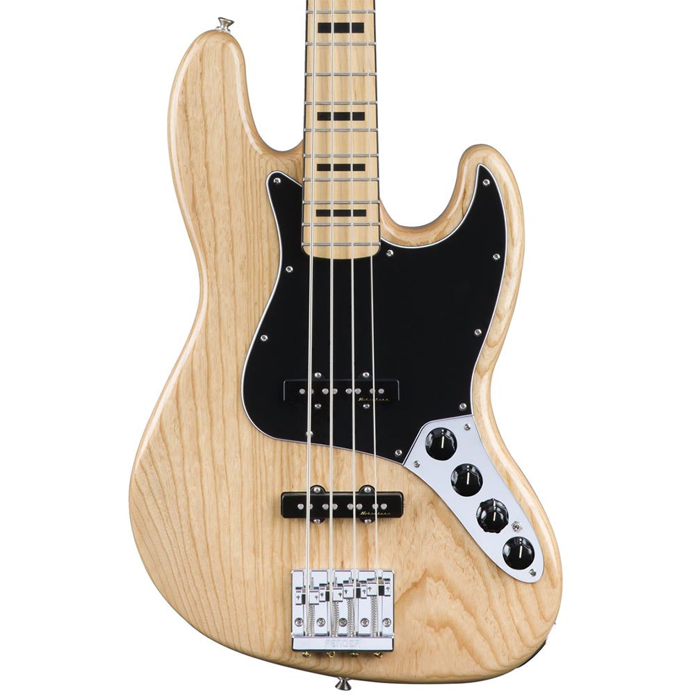 Fender Deluxe Active Jazz Bass - Maple - Natural