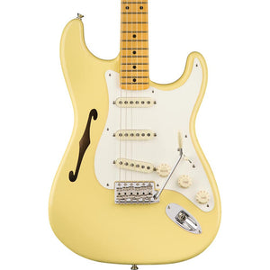 Fender Eric Johnson Thinline Stratocaster - Maple - Vintage White
