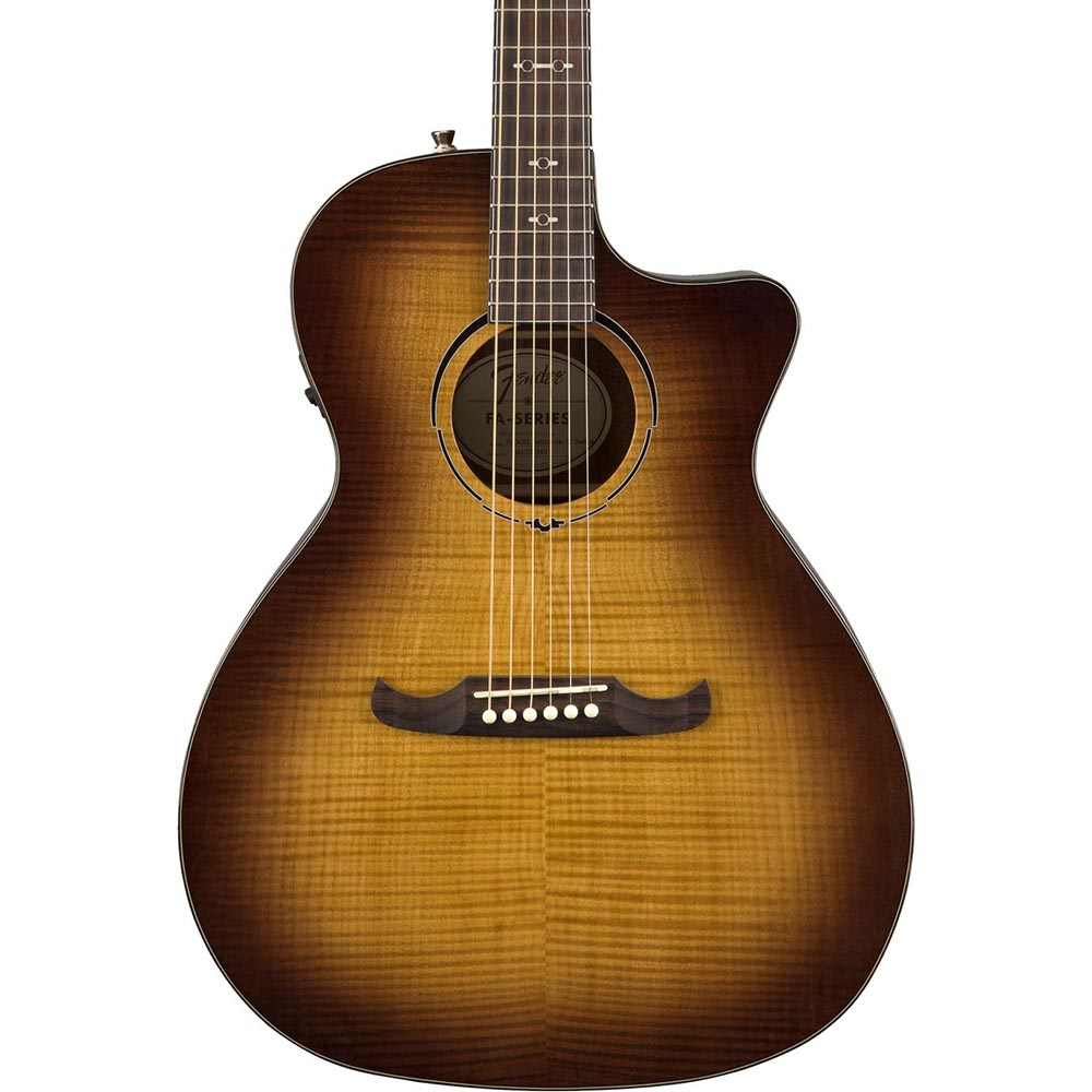 Fender FA-345CE Auditorium - 3-Tone Tea Burst