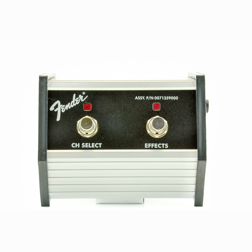 Fender Footswitch - 2 Button - Channel Select - Effects On-Off