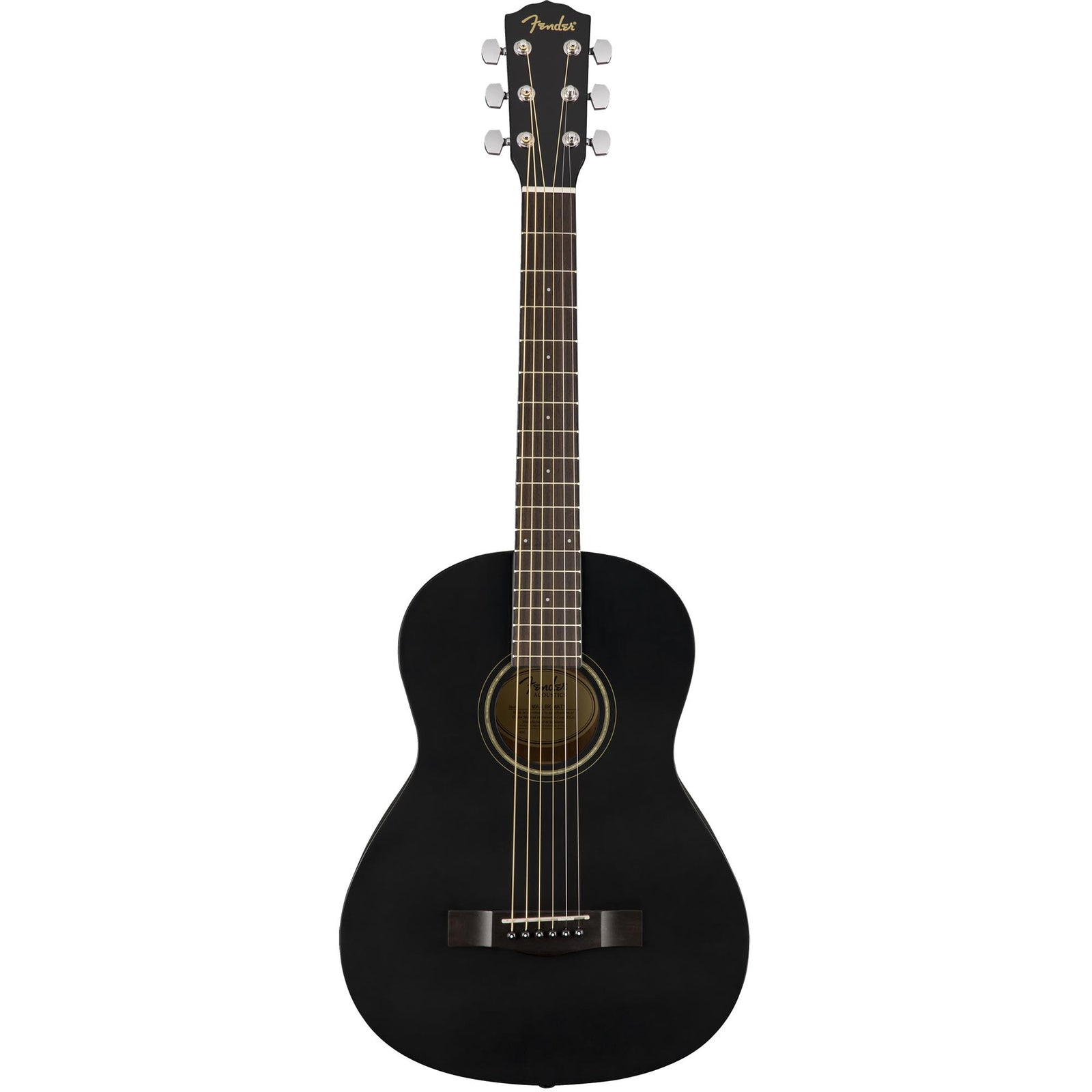 Fender FSR MA-1 3/4 Steel - Matte Black