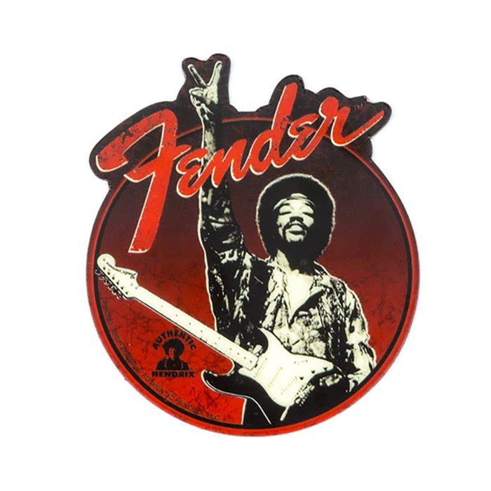Fender Hendrix Peace Sign Magnet