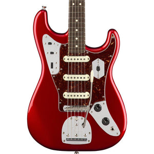Fender Jaguar Stratocaster - Rosewood - Candy Apple Red