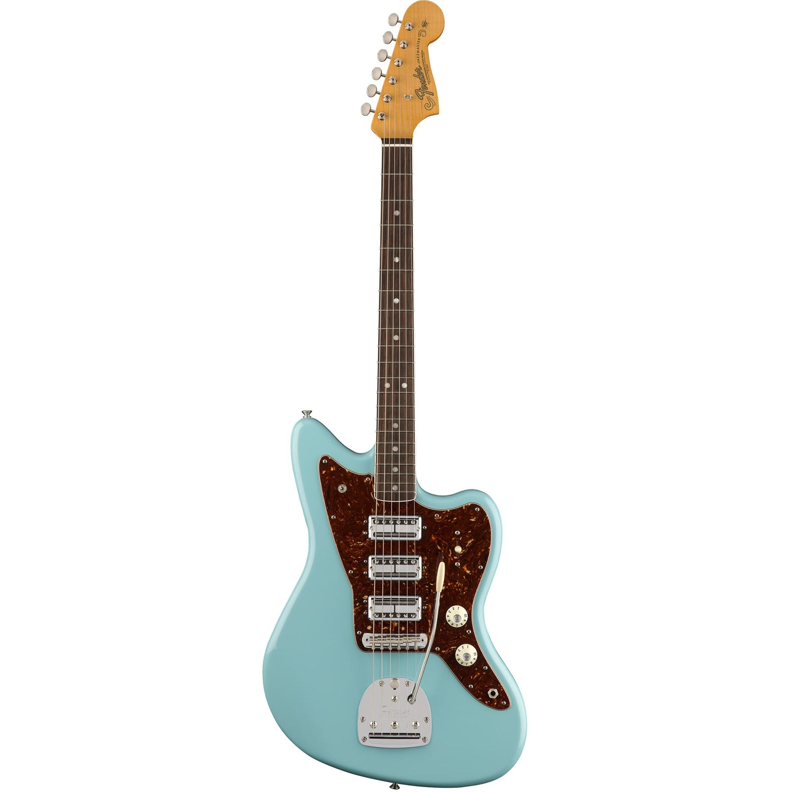 Fender Limited Edition 60th Anniversary Triple Jazzmaster- Rosewood - Daphne Blue