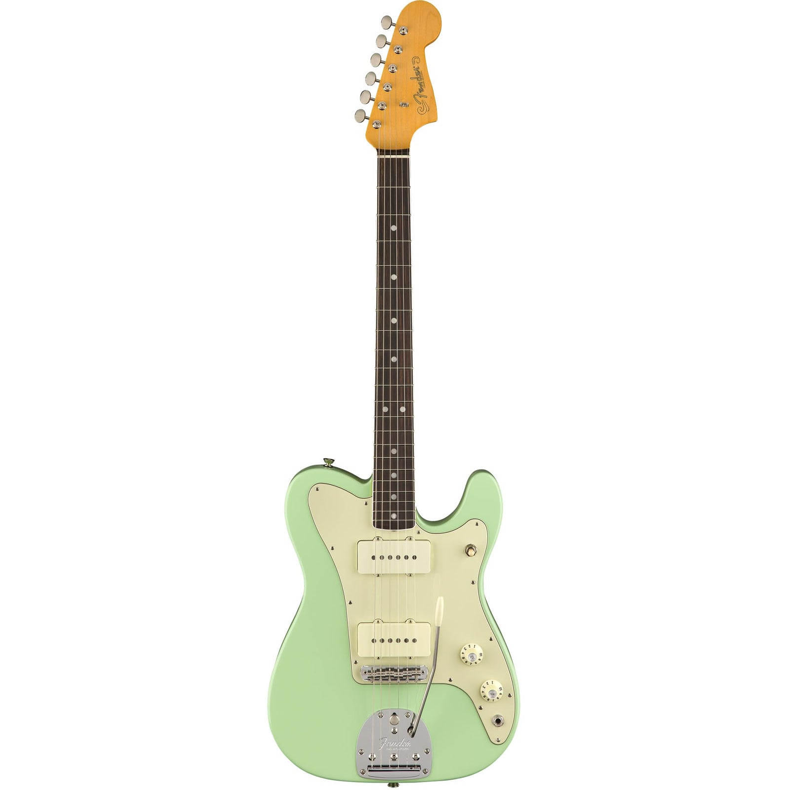 Fender Limited Edition Jazz Telecaster Rosewood Surf Green Sound Synthesizer