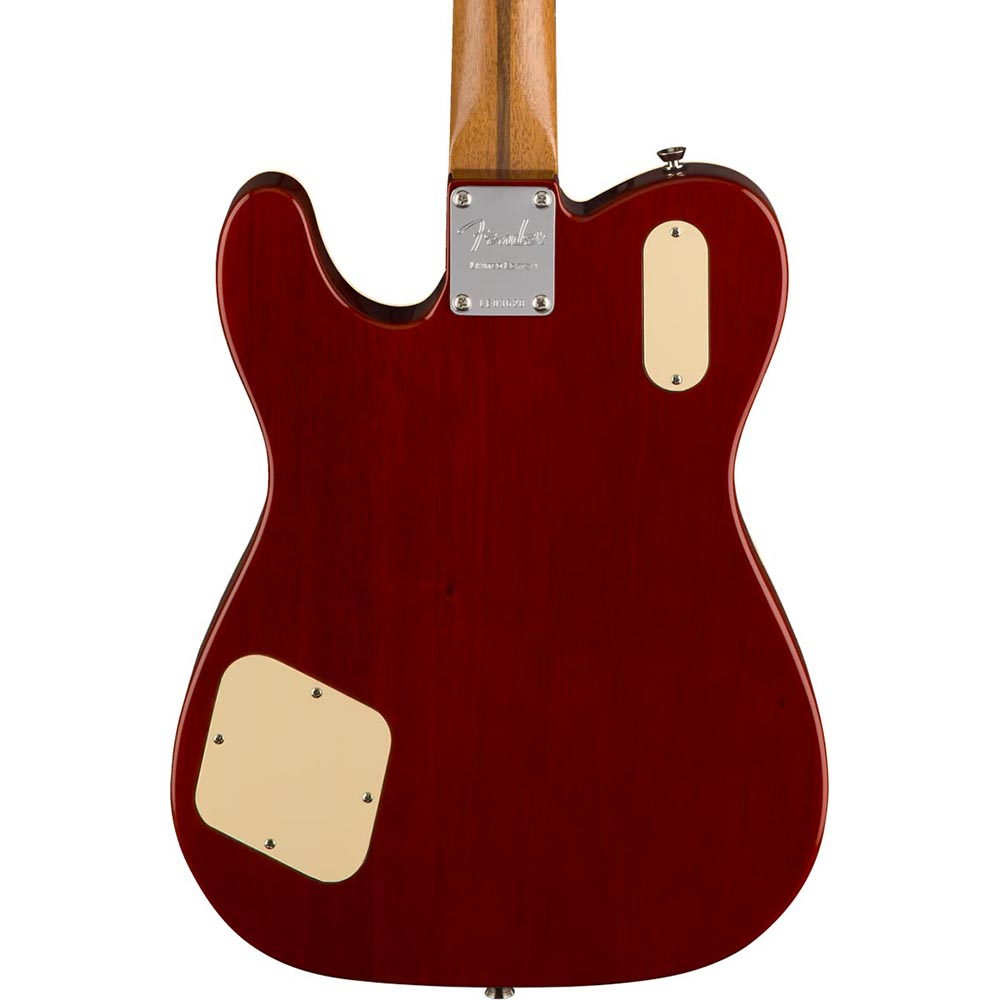 Fender Limited Edition Troublemaker Telecaster Deluxe - Rosewood - Ice Tea Burst