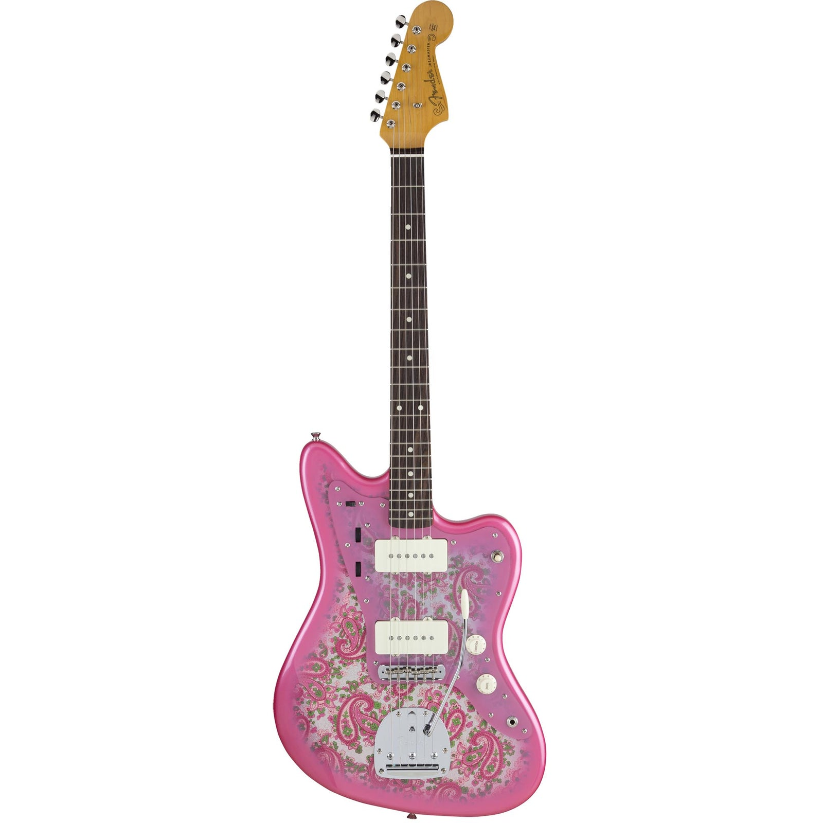 Fender Made In Japan Traditional '60S Jazzmaster - Rosewood - Pink Paisley