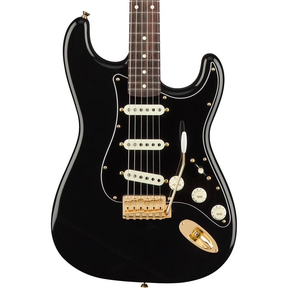 Fender MIJ Midnight Stratocaster