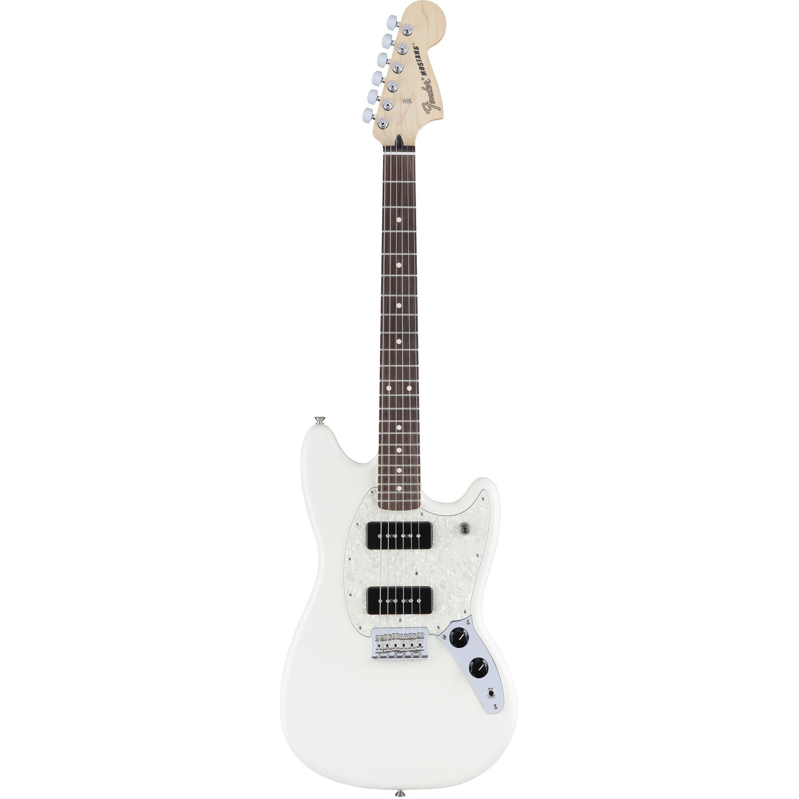 Fender Mustang 90 - Olympic White - Rosewood