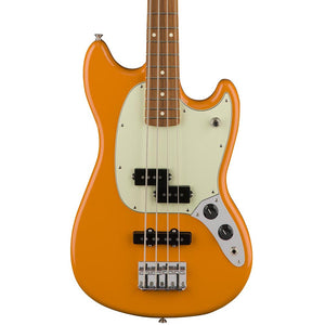 Fender Mustang Bass PJ - Pau Ferro Fingerboard - Capri Orange