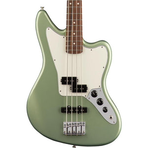 Fender Player Jaguar Bass - Pau Ferro Fingerboard - Sage Green Metallic