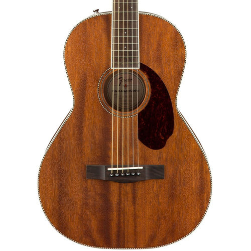Fender PM-2 Parlor All Mahogany With Case - Natural