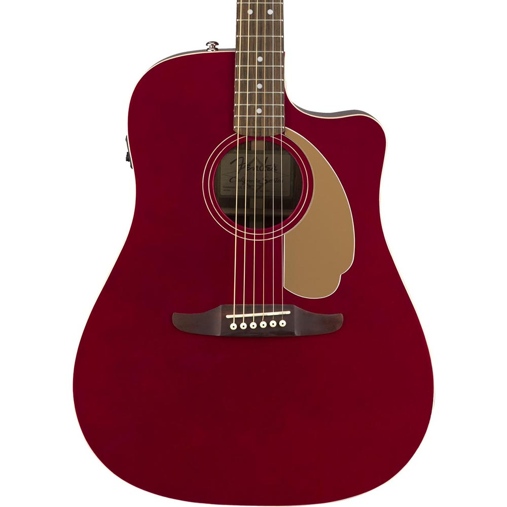 Fender Redondo Player - Candy Apple Red - Image: 1