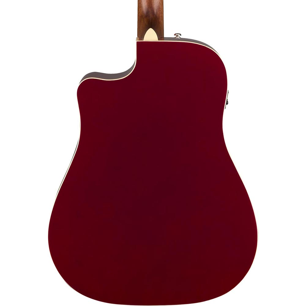 Fender Redondo Player - Candy Apple Red - Image: 2