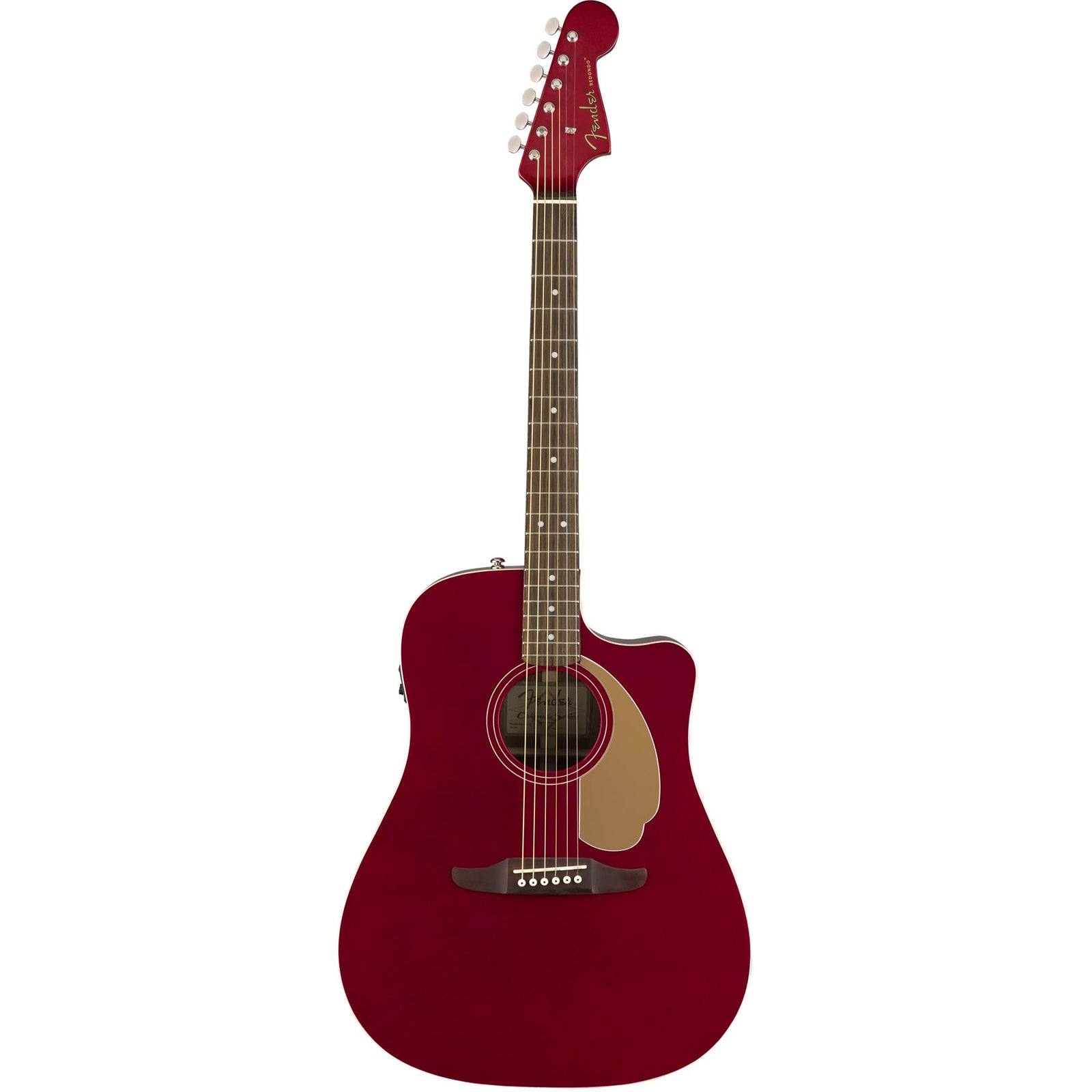 Fender Redondo Player - Candy Apple Red - Image: 3