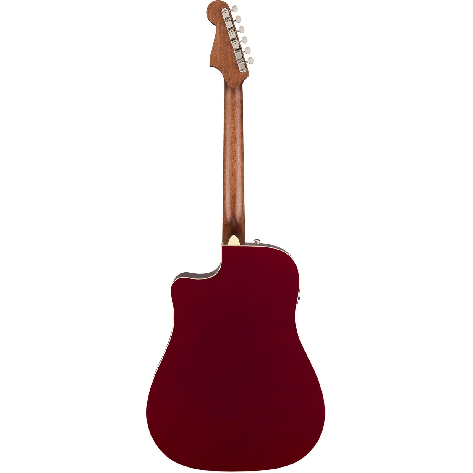 Fender Redondo Player - Candy Apple Red - Image: 4