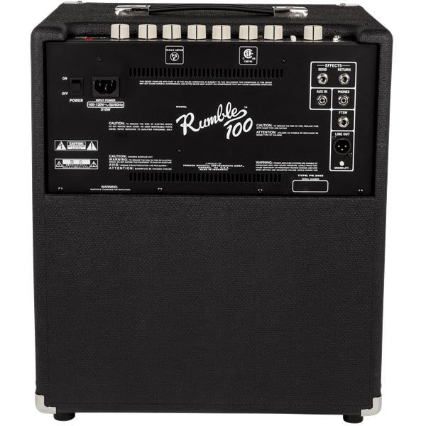 Fender Rumble 100 V3 - Black