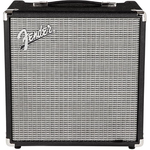 Fender Rumble 25 (V3) - 120V - Black/Silver