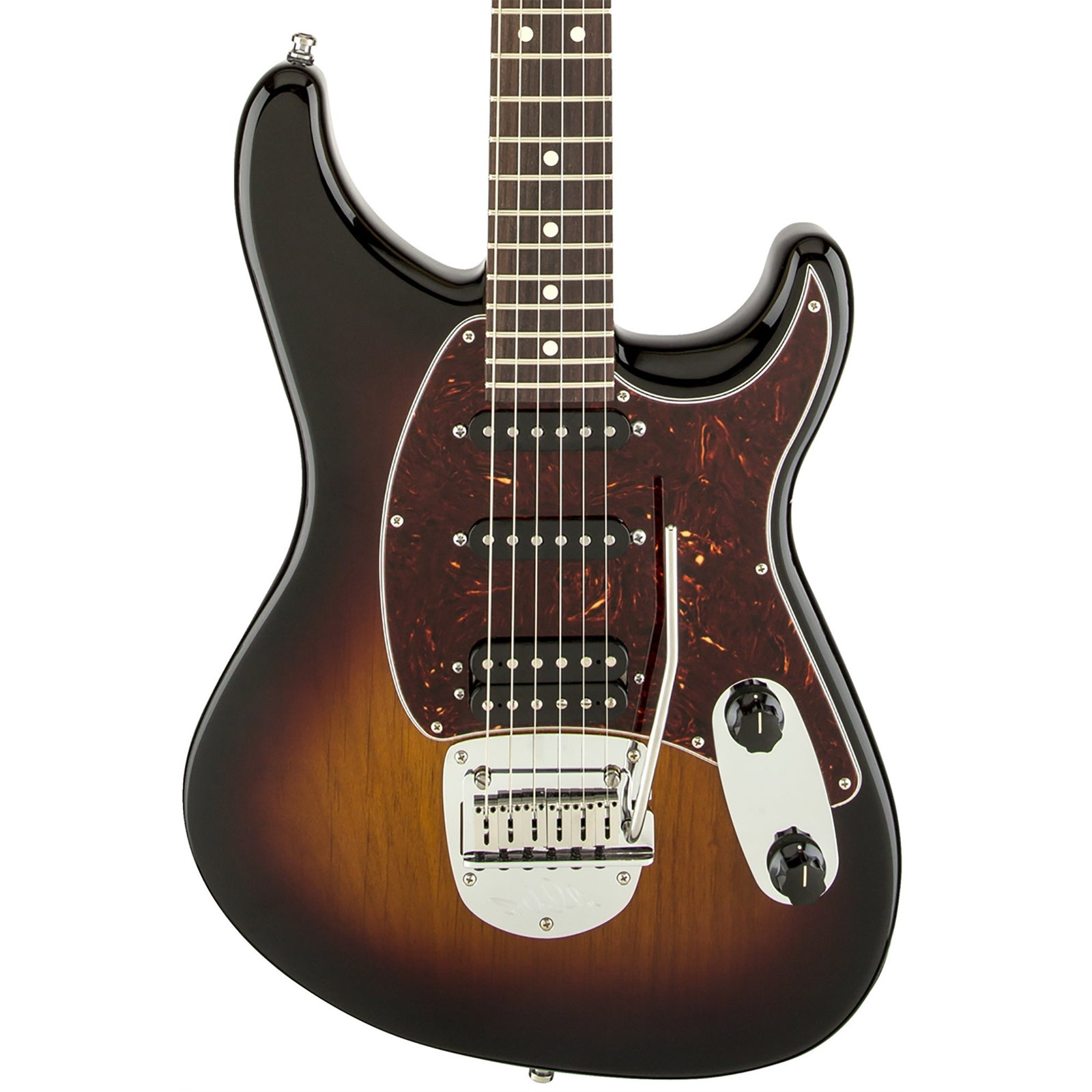 Fender Sergio Vallin Signature Guitar - Rosewood Fingerboard - 3-Color Sunburst