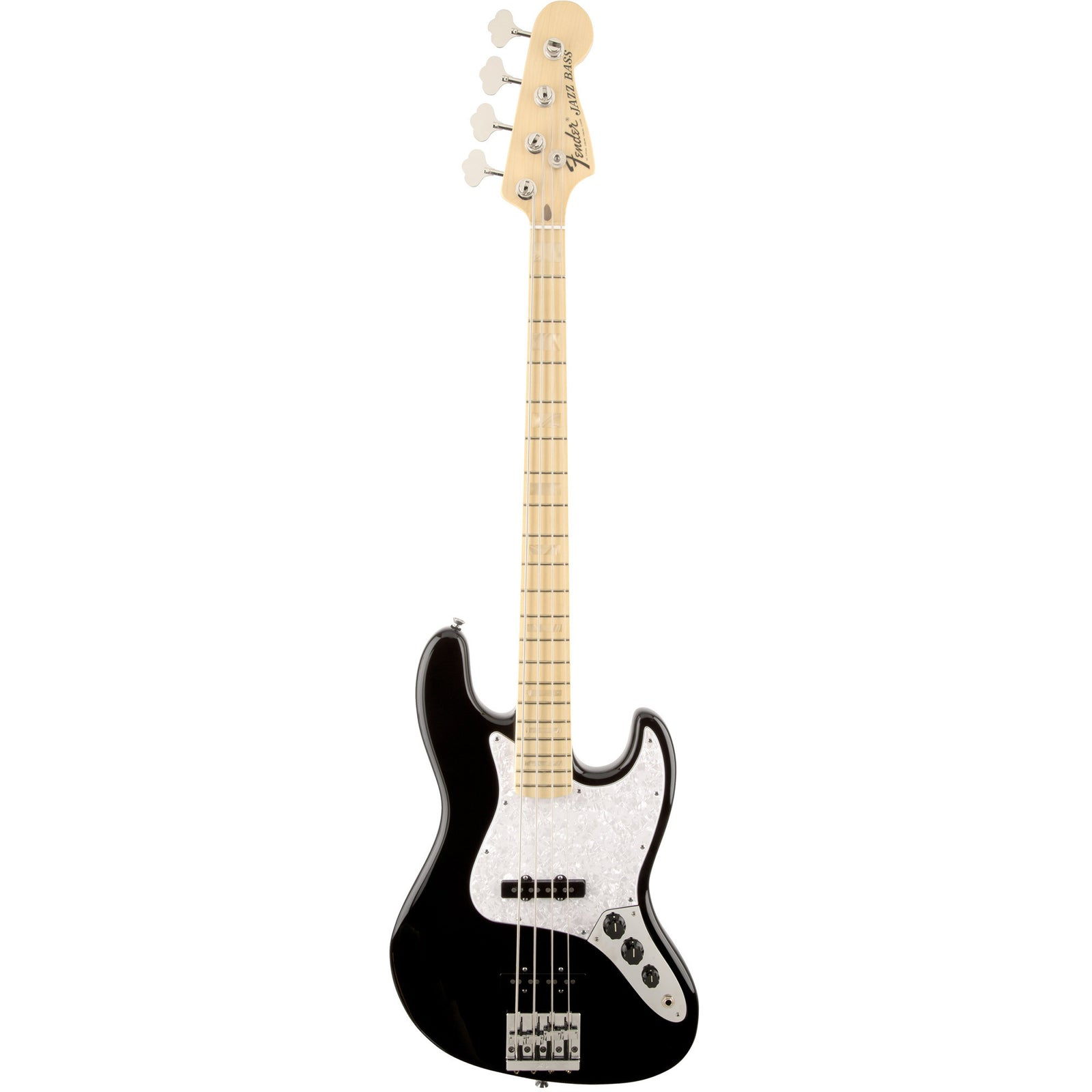 Fender U.S. Geddy Lee Jazz Bass - Black