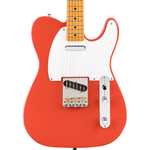 Fender Vintera '50s Telecaster Maple, Fiesta Red