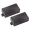 Fishman Fluence Modern Humbucker - Set - Black Plastic