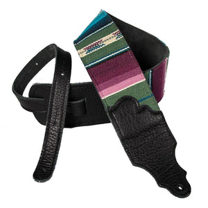 "Franklin Strap 3"" Soft Saddle Blanket Strap - Black"