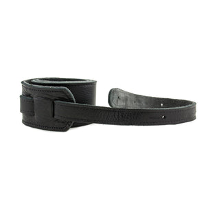 "Franklin Strap Original Black Glove Straps 2.5"" Black Stitching"