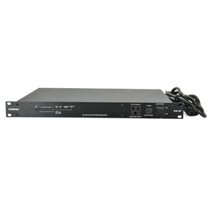 Furman 15A Standard Power Conditioner With Voltage Regulation - 9 Outlets - Led Voltm