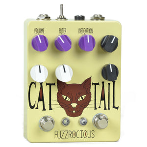 Fuzzrocious Cat Tail Distortion - Overdrive Pedal With Octave Jawn Mod