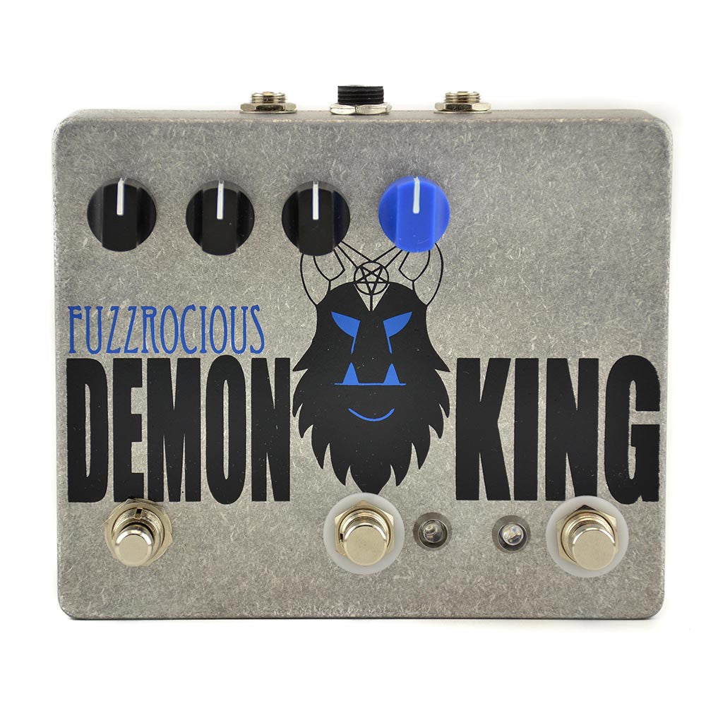 Fuzzrocious Demon King Overdrive/Distortion - Momentary Feedback