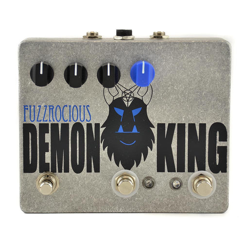 Fuzzrocious Demon King Overdrive/Distortion, Momentary Feedback