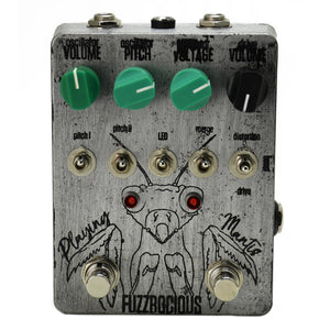 Fuzzrocious Playing Mantis Boost, Overdrive and Oscillator