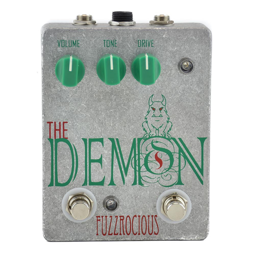 Fuzzrocious The Demon Overdrive/Distortion - Gate/Boost Mod