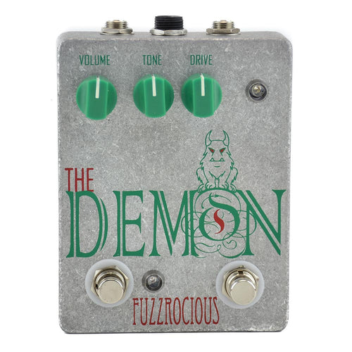 Fuzzrocious The Demon Overdrive/Distortion, Gate/Boost Mod