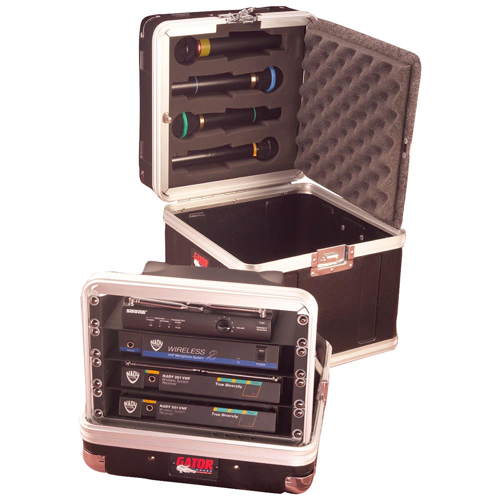 Gator Cases ATA Style Poly Case For 4 Wireless Systems
