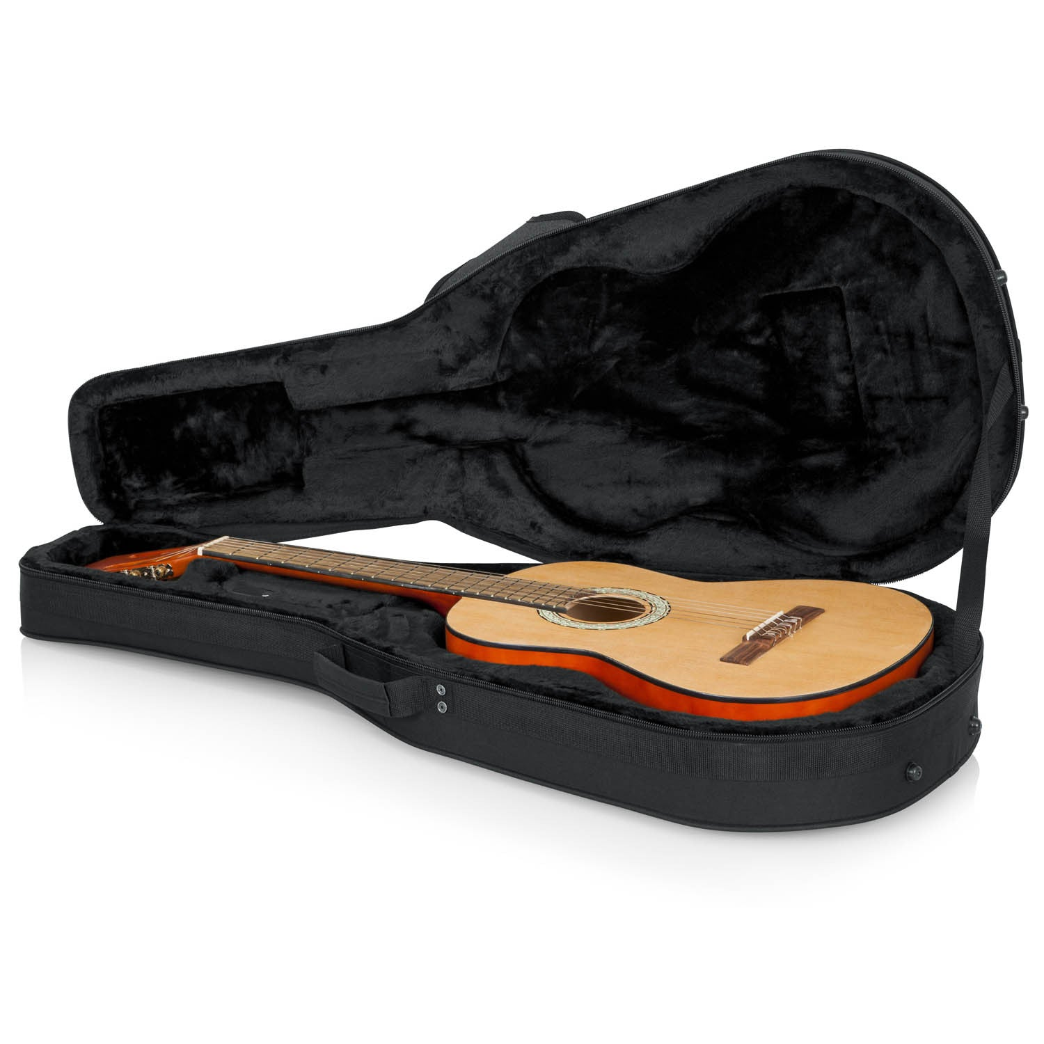 Gator Cases Rigid EPS Polyfoam Lightweight Case For Classical Guitars