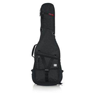 Gator Cases Transit Series Electric Guitar Gig Bag With Charcoal Black Exterior
