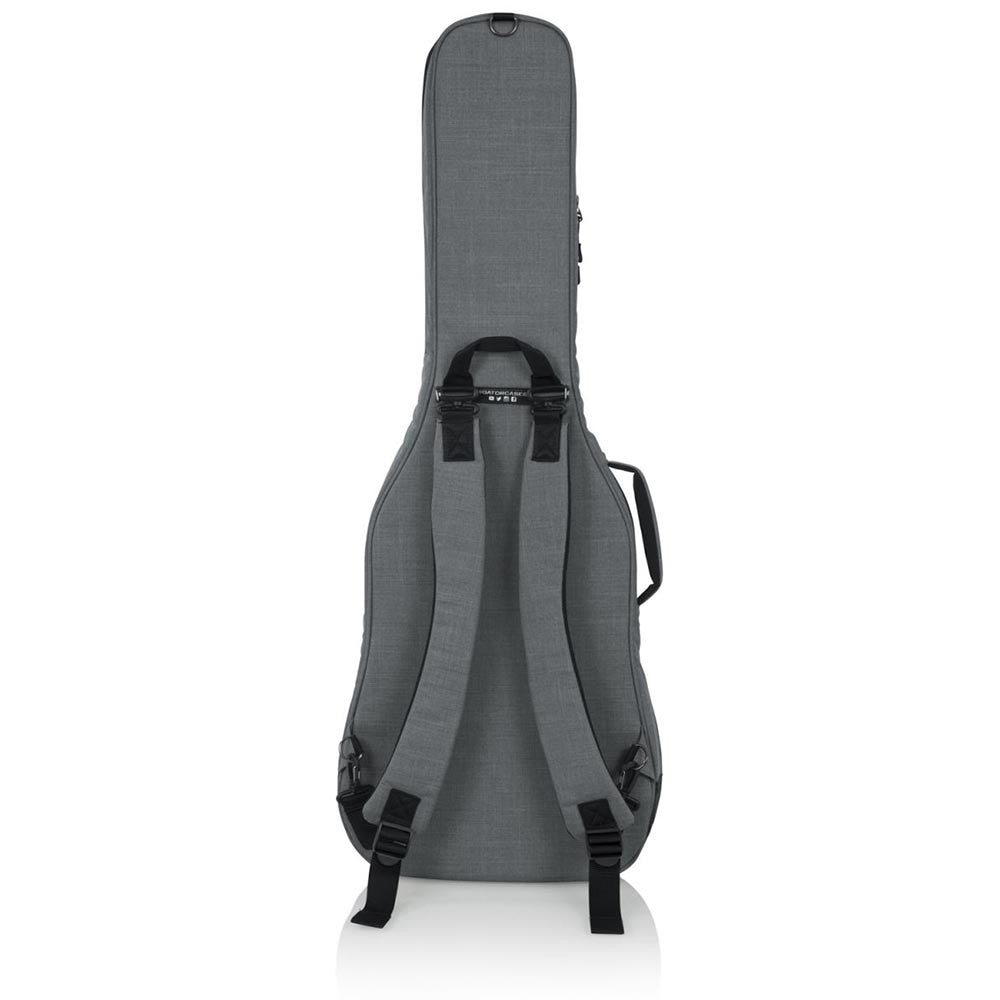 Gator Cases Transit Series Electric Guitar Gig Bag With Light Grey Exterior