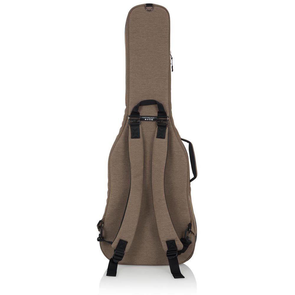 Gator Cases Transit Series Electric Guitar Gig Bag With Tan Exterior