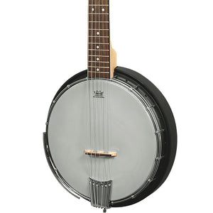 Gold Tone AC6+ 6 String Banjo With Electronics And Bag