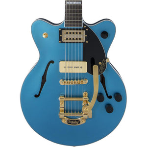 Gretsch G2655TG-P90 Limited Streamliner Center Block Jr. P90 - Riviera Blue Satin