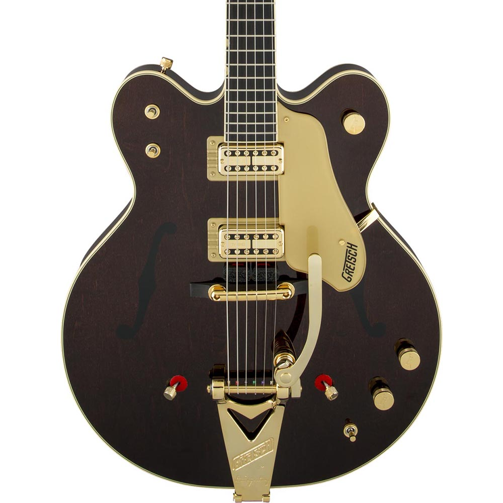 Gretsch G6122T-62 VS Edition '62 Chet Atkins Country Gentleman Hollow With Bigsby - TV Jones - Walnut Stain