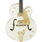 Gretsch G6136T-59 Vintage Select Edition '59 Falcon Hollow Body With Bigsby - TV Jones - Vintage White