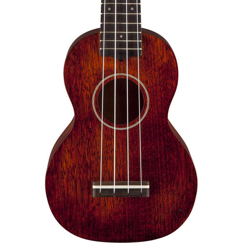 Gretsch G9100-L Soprano Long-Neck Ukulele With Gig Bag - Natural