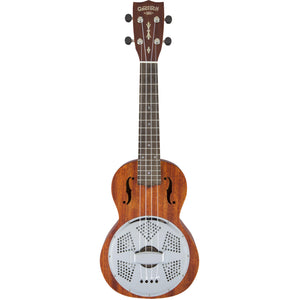 Gretsch G9112 Resonator-Ukulele With Gig Bag - Ovangkol - Biscuit Cone - Honey Mahogany Stain