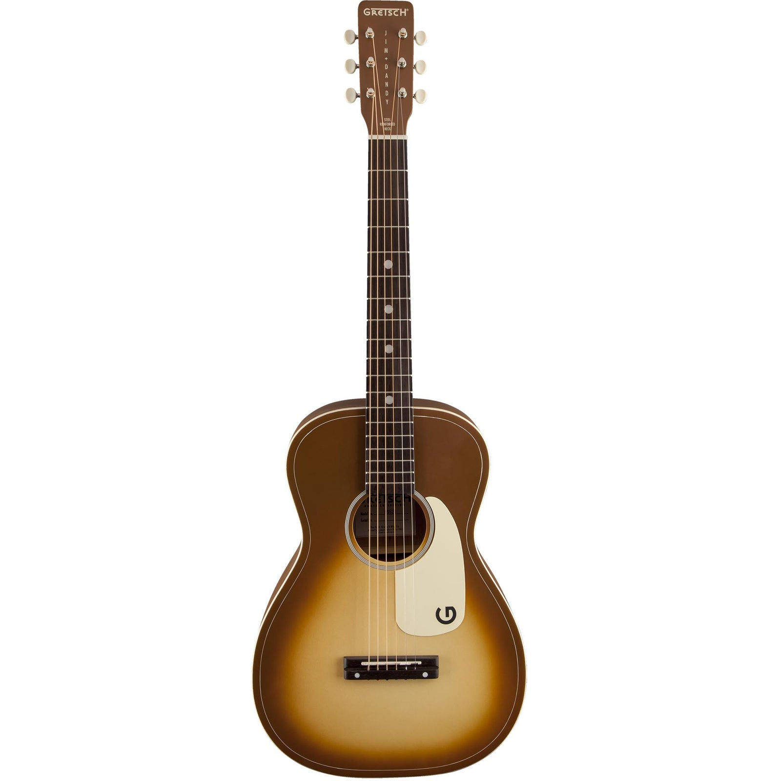 Gretsch G9520-BRB Limited Jim Dandy Flat Top - Bronze Burst - Image: 3
