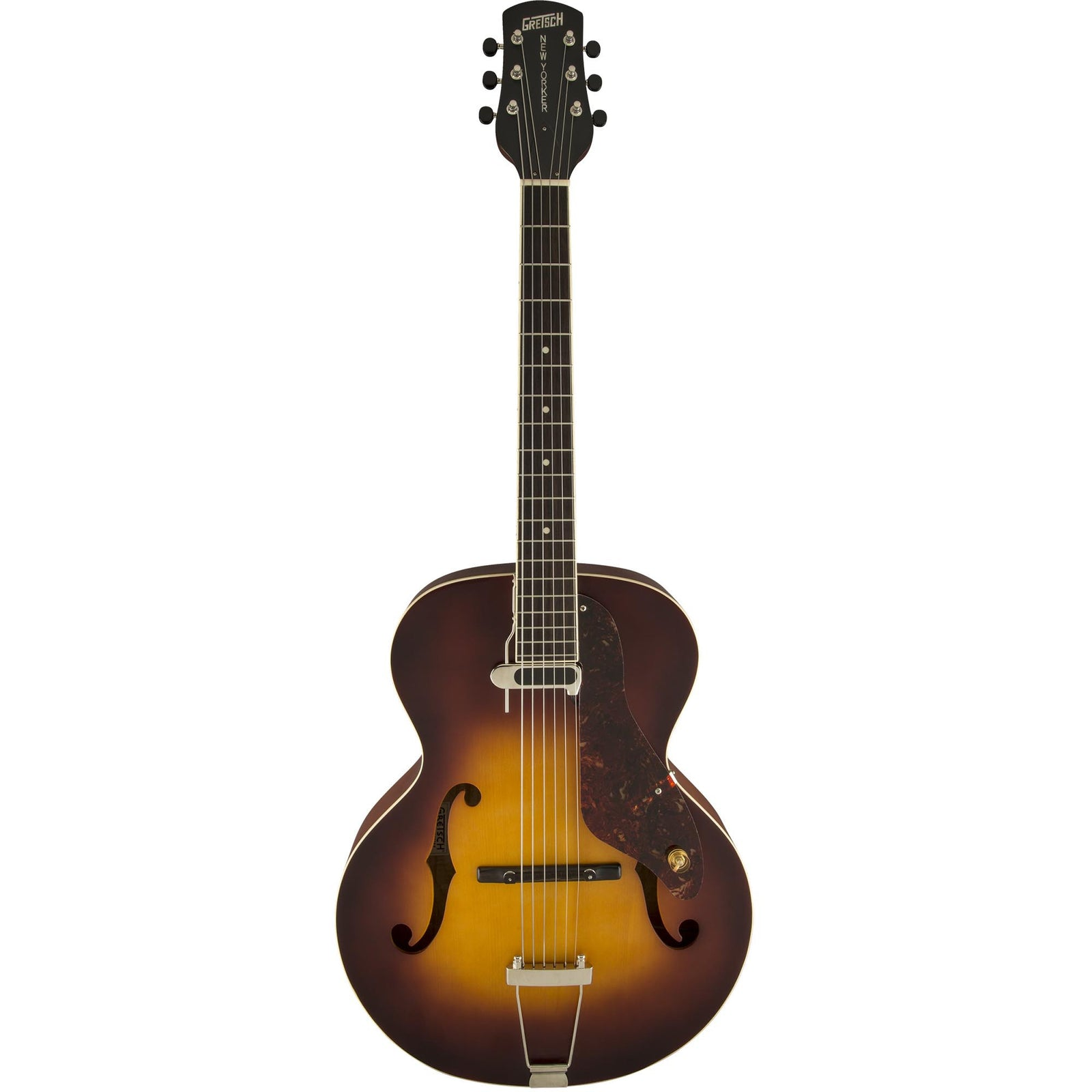 Gretsch G9555 New Yorker Archtop With Pickup, Antique Burst